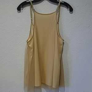 unknown Tops - Gold tank top